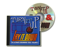 Physical CD - Turn It Up and Lay It Down Vol. 2