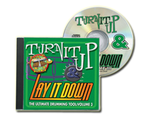 Physical CD - Turn It Up and Lay It Down Vol. 3