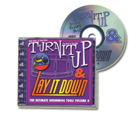 Physical CD - Turn It Up and Lay It Down Vol. 4