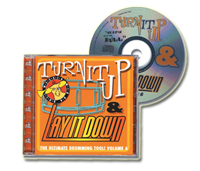 Physical CD - Turn It Up and Lay It Down Vol. 6